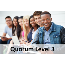 Quorum Level 3 Membership (41-60 teachers/staff/providers)